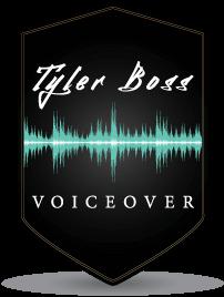 Tyler Boss Voiceover logo